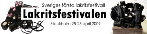 Sveriges första Lakritsfestival startar ny tradition – Barbro Hedström har skapat första årets lakritsskulptur!