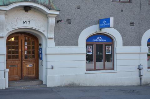 Entré Molinsgatan 7, Medborgarskolan Göteborg
