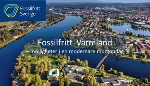 Projektet deltar som utställare på Fossilfritt Värmland