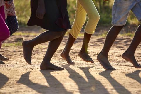 Jorden runt loppet i Zimbabwe