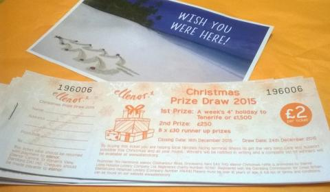 Were you a Christmas Raffle Winner?