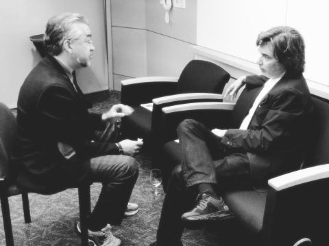 Jean Michel Jarre hittar musikens syre i gröna rörelsen