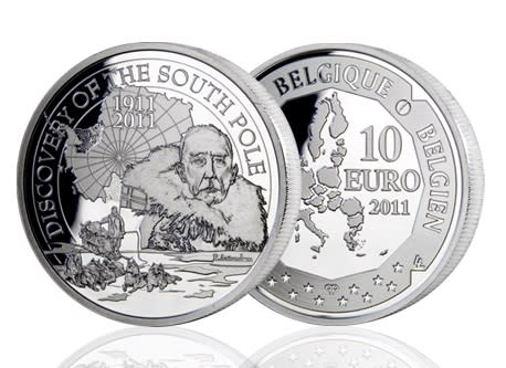 Første nordmann på Europeisk sølvmynt