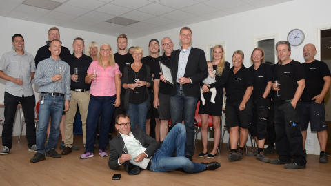 Lesjöfors Automotive AB blev Supplier of the Year 2016
