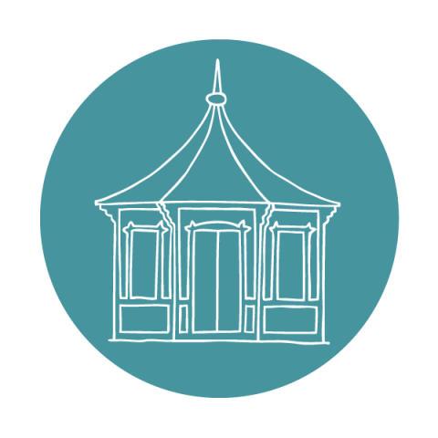 Byggnadsvårdsföreningens logotyp.