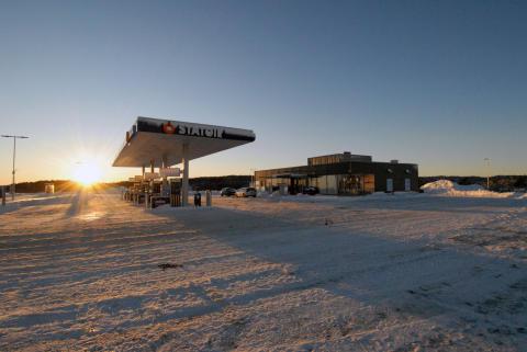 Åpner Norges siste nybygde Statoil-stasjon
