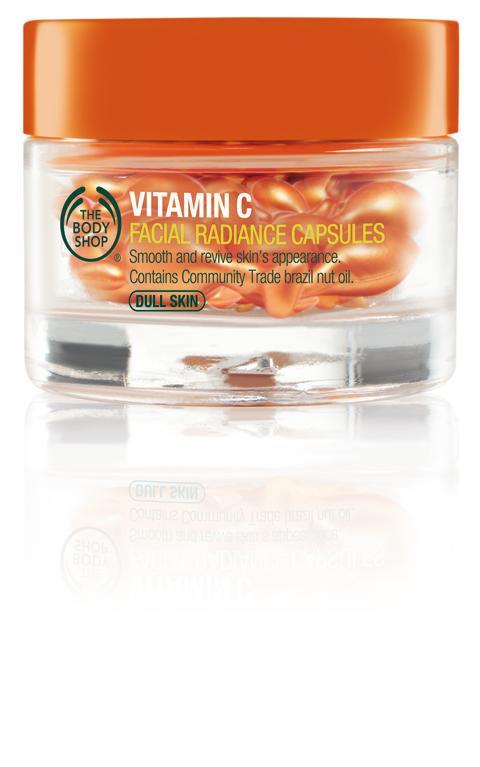 Vitamin C Facial Radiance Capsules