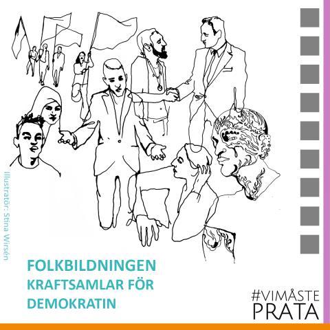 Folkbildningens demokratiturné avgår: Första destination Borås!