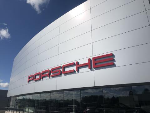 VVS-metoder klar med ny försäljningsanläggning åt Porsche