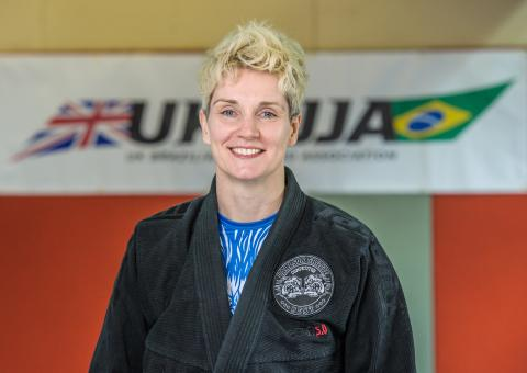 Unstoppable Girl....BJJ Blue Belt and Firefighter Tracy Doyle