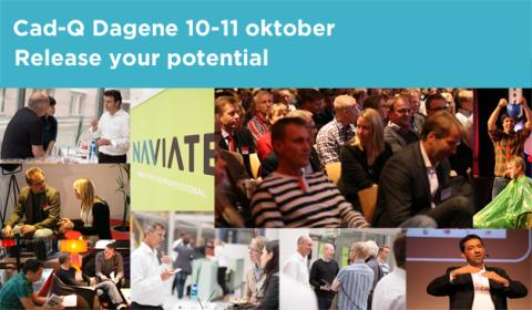 Cad-Q Dagene 2013 - Release Your Potential