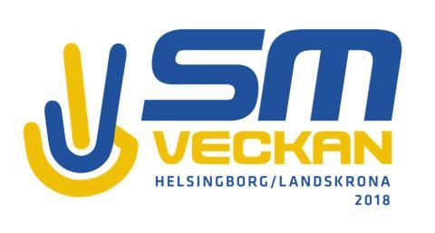 Dagar och platser för alla idrotter under SM-veckan i Helsingborg och Landskrona