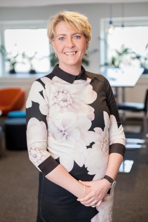 Trude Berg, marknadschef, SYmetri