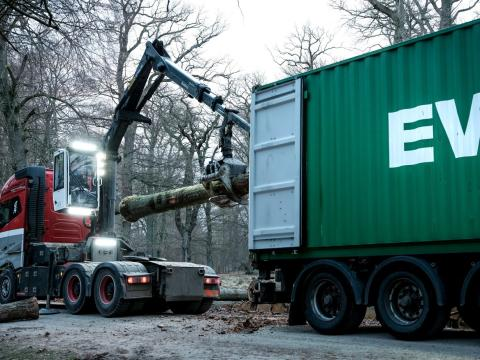A customer story of transport and logistics of timber for Danish Hardwood