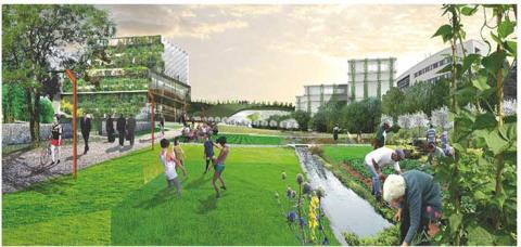 Transform campuses into experimental areas full of biological diversity