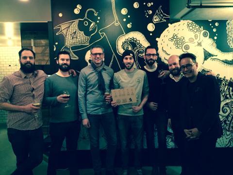 En Öl & Whiskymässas hembryggningstävling har idag utsett vinnaren av Homebrew Competition