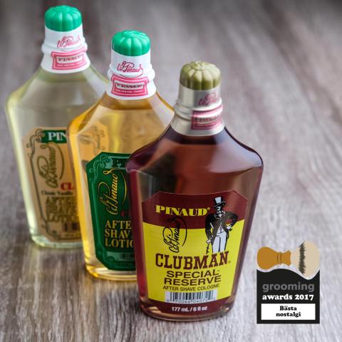 Grooming Awards 2017 - Bästa nostalgi, Clubman Pinaud