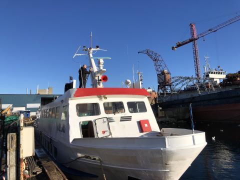 BygKontrols renovering af færge