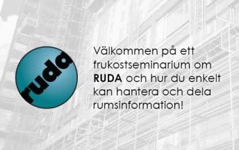Välkommen på frukostseminarium om RUDA