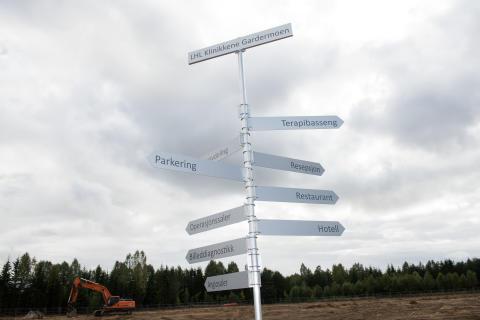 Her bygges Norges grønneste sykehus