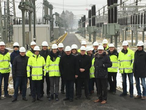 Offizielle Inbetriebnahme Umspannwerk Würgau