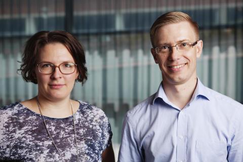 Cecilia Gomez och Fredrik Löndahl