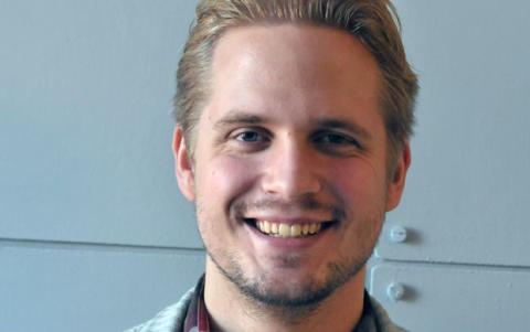 Kristofer Lundin, tenor, i rollen som Egeo i Cavallis Jason & Medea