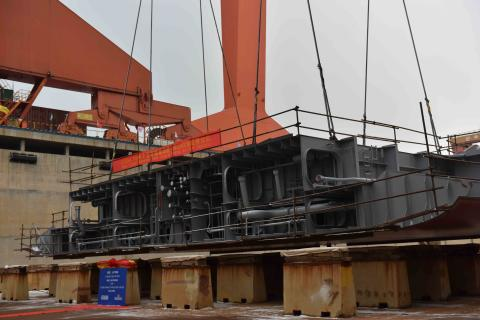 Stena Line's new RoPax vessels beginning to take shape