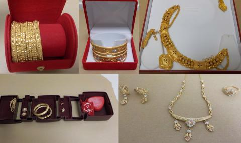 Officers hope to reunite stolen jewellery with rightful owers