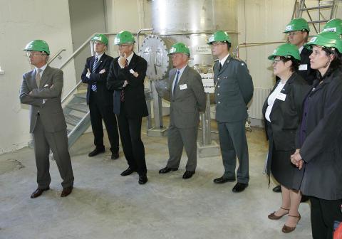 The Swedish King Carl XVI Gustaf and Queen Silvia visit SEKAB.