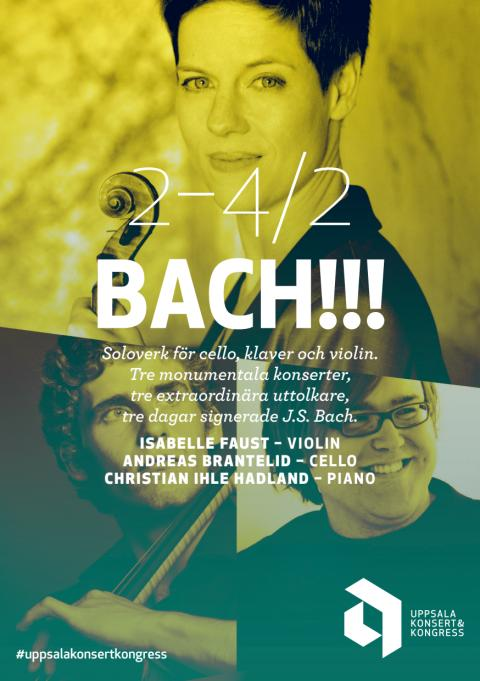Konsertprogram och mer information - BACH!!!