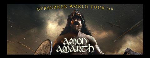 Amon Amarth till Malmö Arena i december!
