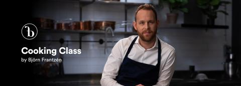 Björn Frantzén's Exclusive Online Cooking Class on Starflow