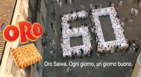 Originale tributo alla campagna pubblicitaria per i 60 anni di Oro Saiwa domani tutti i dipendenti Mondelēz International  faranno colazione in pigiama