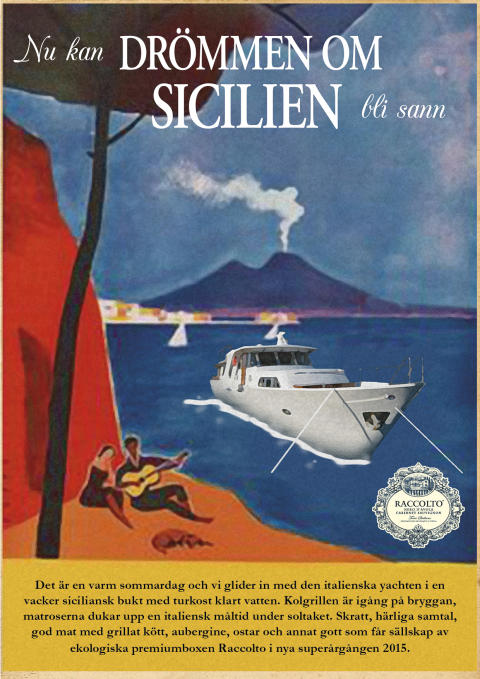 Nu kan drömmen om Sicilien bli sann - med Raccolto