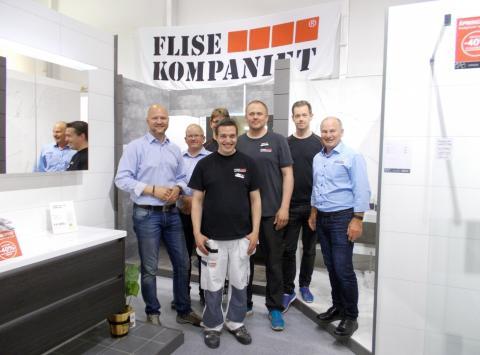 Flisekompaniet åpnet shop-in-shop hos Montér