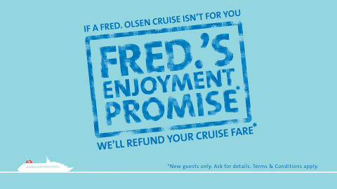 Fred. Olsen Cruise Lines celebrates New Year sales success!