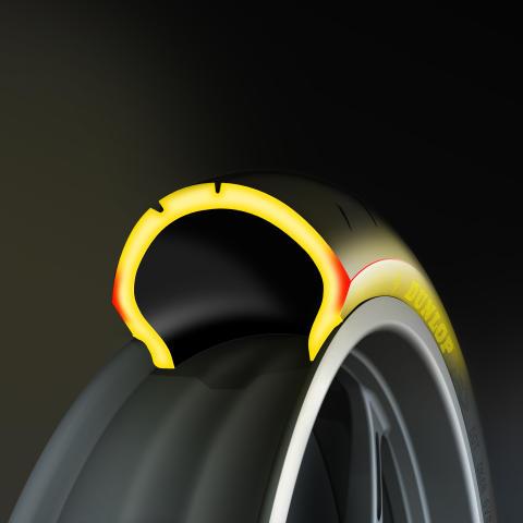 Nummer 1 i miltal. Nya Dunlop SportSmart2 Max vinner Motorrads Endurance-test