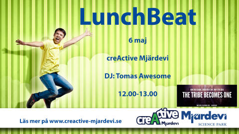 Global Lunch Beat Day på creActive den 6 maj
