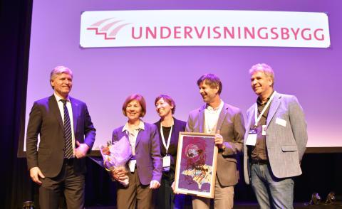 Undervisningsbygg vant Difis pris for bærekraftige anskaffelser