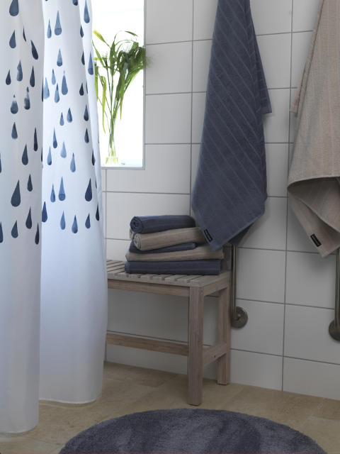 Shower curtain Flow, Terry towel Novalie Stripe_3