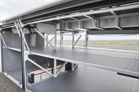 Scania Van Hool Altano bagagerum