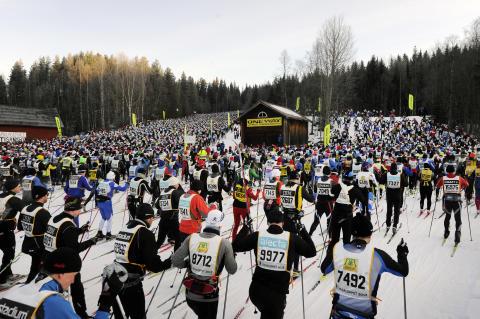 Vasaloppet 2013 fulltecknat, efter bara 11 dagar
