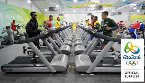 OS i Rio 2016 väljer Technogym