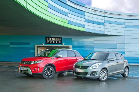 Suzuki Nytårsshow med et top-trimmet modelprogram