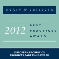 "Chr. Hansen wins ""probiotic leader of 2012"" title"
