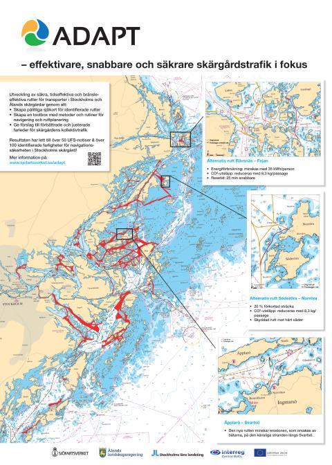 Sjömätning i Stockholms skärgård ger nya rutter för kollektivtrafiken – välkommen på pressträff