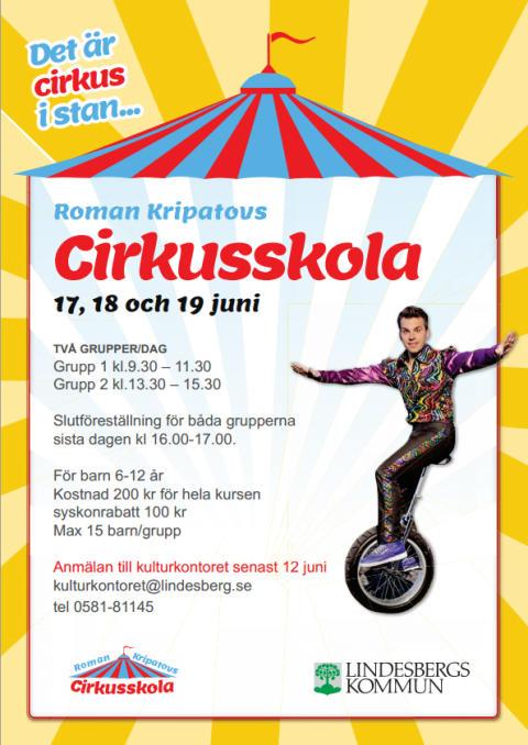 Roman Kripatovs Cirkusskola tillbaka i Lindesberg