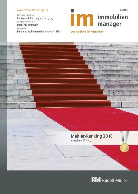 immobilienmanager Makler-Ranking 2018
