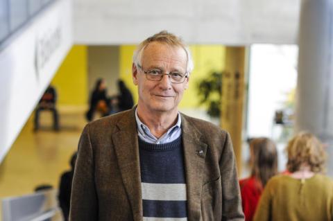 Sten Heckscher utses till hedersdoktor på Södertörns högskola